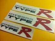 Type R Sticker