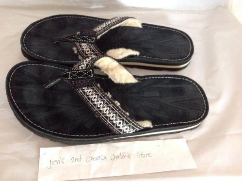 ugg flip flop sandals ebay. Black Bedroom Furniture Sets. Home Design Ideas