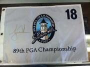 Tiger Woods Signed Flag