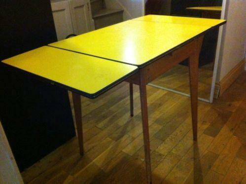 Captivating 50s Formica Table | EBay