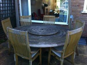 Awesome Used Garden Table And Chairs