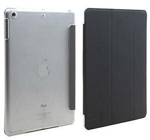 Ipad air smart cover with clear back cover, Black