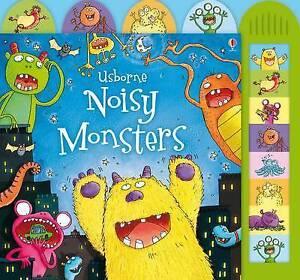 Noisy Monsters (Usborne Noisy Board Books), Jessica Greenwell, Acceptable Book