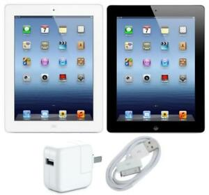 Excellent Condition Factory refurbished iPad 3 , 3rd Gen, Cellular(Unlock) + WIFI  16GB Retina Display  (Black)