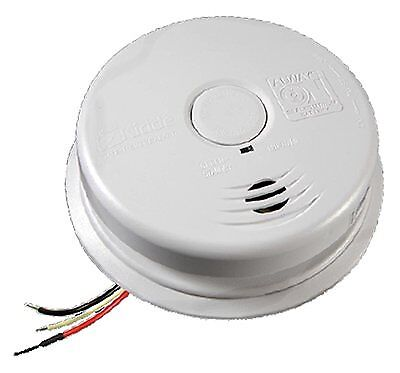 Kidde GIDDS-2475141 2475141 Worry-Free Ionization Wire-In Smoke Alarm