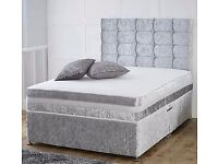 Brandnew Good Quality Divan Sets Call us First FREE HEADBOARD Order Today Deliver Today