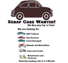 Wanted scrap vehicles 👍