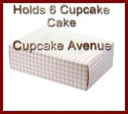 Cupcake Boxes Holds 4