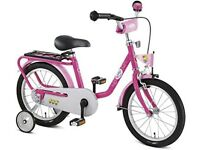 "(4286) 16"" PUKY Z6 BABY BORN Girls BIKE Kids Childs CRUISER BICYCLE Age: 5-7, Height: 105-125 cm"