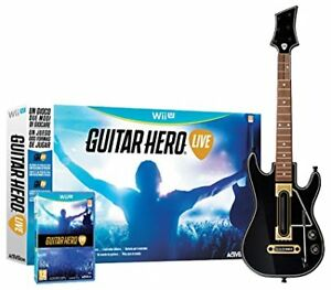 Guitar Hero live Pack guitare et jeux NEUF