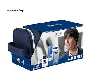 NIVEA TRAVELSET FOR MEN MILD Pflegeset NEU&OVP
