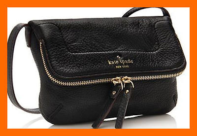 NWT Kate Spade New York Mariana Mansfield Black Crossbody Shoulder Bag Purse