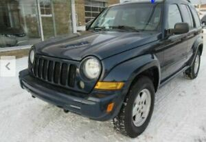 Jeep Libery 4X4 SUV: with brand new MVI (until MAr 2021).