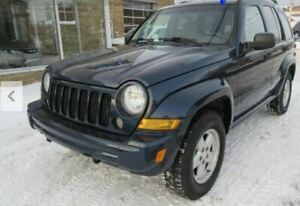 4x4 Jeep Liberty SUV- with brand new MVI until March 2021