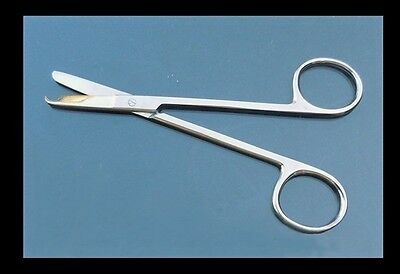 High Quality Stainless Steel Suture Stitch Scissors Straight Tip 4.5