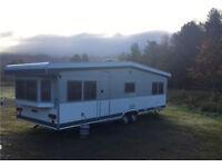 Hobby Landhaus Touring Caravan