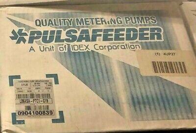 Pulsatron Lb64sa-ptc1-g19 Pulsafeeder Diaphragm Metering Pump 30 Gpd 100 Psi