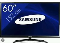 60 inch samsung smart tv 3d *fault*