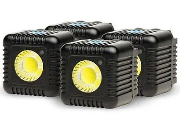 Lume Cube Four (4) Lume Cube Pack - Black