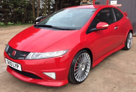 HONDA CIVIC TYPE R GT, Milano Red, Low Mileage, Full Service History