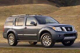 4 x Nissan Pathfinder 18 inch Diamond cut alloy wheels with Nokian winter Tyres.265/60/18