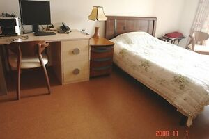 Cork flooring for your bedroom gives it that extra 'wow'.