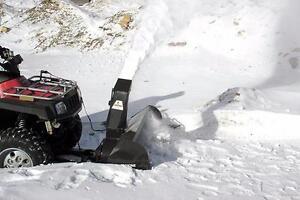 ATV Snowblower, ATV Power Broom, ATV Trail Mower Mounted on your ATV Power Frame System