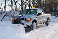 Snow clearing removal