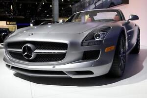 2012 mercedes SLS classic colour combo silver with red interior