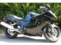 Black Honda Blackbird. £2000.00 OVNO.