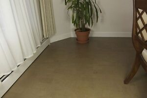 Cork soundproofing tiles – a win-win situation.