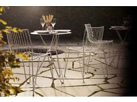 TIO STEEL WIRE OUTDOOR CHAIRS FOR YOUR HABITAT MASSPRODUCTIONS BERTOIA REFERENCE