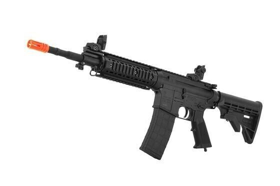Airsoft Tippmann CO2 HPA M4 Carbine Rifle + Remote Gas Line full auto