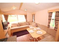 Static Holiday Home Caravan Weymouth Bay for sale second hand - on the BEACH!