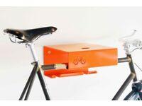 Turquoise Cyclehoop Shelf bike rack storage - never used