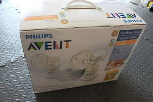 NEW Philips AVENT BPA Free ISIS iQ Duo Twin Electric Breast Pump