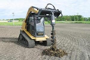 Earth Auger for your Skid Steer Nothing Built tougher the Original built in the USA not a Chinese 40 Hour Auger