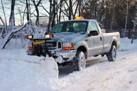 Commercial Snow removing , & salting/sanding
