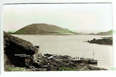 POSTCARD JETHOU ISLAND HERM CHANNEL ISLANDS NORMAN GRUT REAL PHOTO VINTAGE 1930S