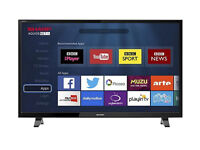 Sharp LC-49CFG6001K Smart Full HD 49 Inch LED TV with Freeview HD - Brand New & Sealed