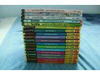 Lovely selection of 18 Goosebumps books (children's fictional horror)