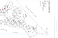 Private undeveloped corner lot for sale in Hendrix Lake BC