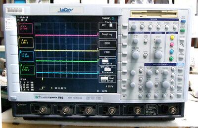 Lecroy Wavepro 960 Dso 2ghz Bandwidth 4-ch Digital Oscilloscope 16gss