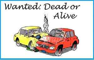 Cash for crap cars and trucks.  DEAD OR ALIVE $$$