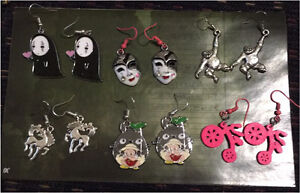 Anime - Pokemon - Nintendo earrings, keychains or necklaces London Ontario image 2