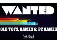 WANTED - Old Board Games & Toys