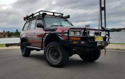 1992 Factory Turbo Diesel Toyota LandCruiser 80 series Ryde Ryde Area Preview