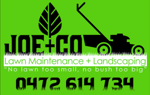 Joe and Co Lawn Mowing, Hedge Trim, H20 Clean, tree lopping