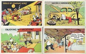 12 Different 1950s Vintage Unused 'Humorous Cartoon' Post Cards Kingston Kingston Area image 3