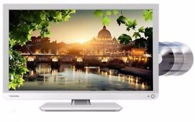 Toshiba 24D1434DB 24 Inch LED TV/DVD Combi with remote